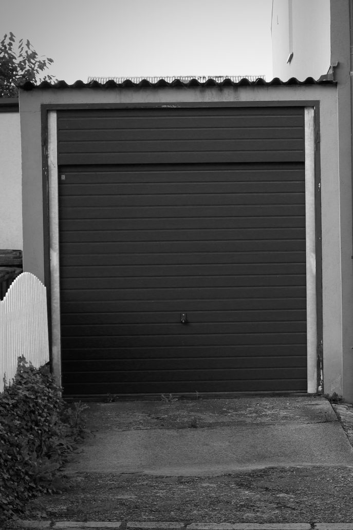 Garage der Firma